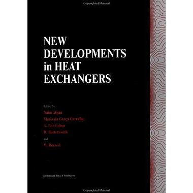 New Developments In Heat Exchangers, New Book (9789056995126)