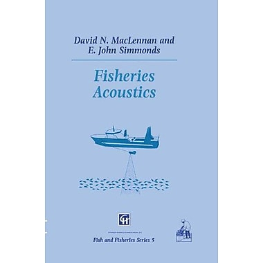Fisheries Acoustics Fish Amp Fisheries Series, New Book (9789048140046)