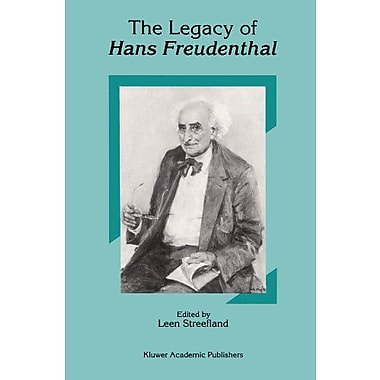 The Legacy Of Hans Freudenthal, New Book (9789048143542)