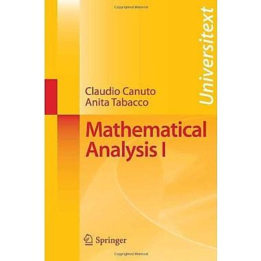 Mathematical Analysis I Universitext, New Book (9788847008755)