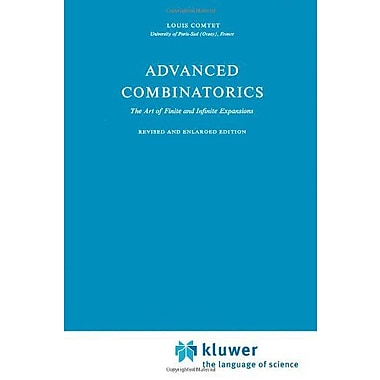 Advanced Combinatorics The Art Of Finite And Infinite Expansions, New Book (9789048183418)