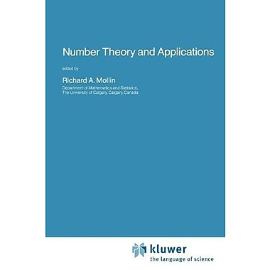 Number Theory And Applications Nato Science Series C, New Book (9789048140411)