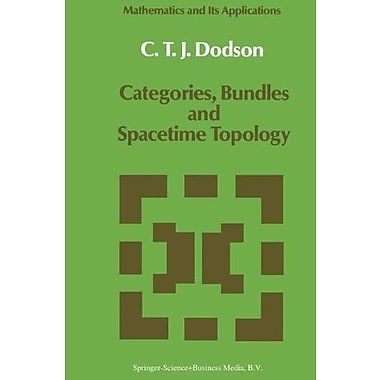 Categories Bundles And Spacetime Topology Mathematics And Its Applications, New Book (9789027727718)