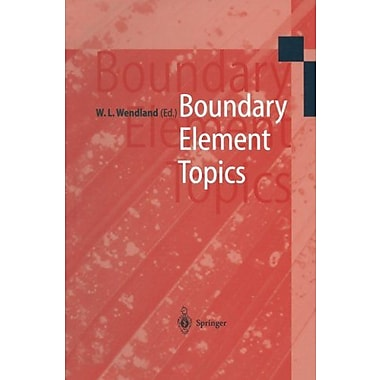 Boundary Element Topics Proceedings Of The Final Conference Of The Priority Research Programme Boundar, New Book (9783642645549)