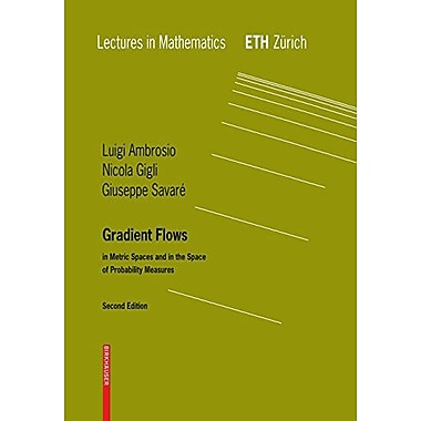 Gradient Flows In Metric Spaces And In The Space Of Probability Measures Lectures In Mathematics Eth Z, New Book (9783764387211)