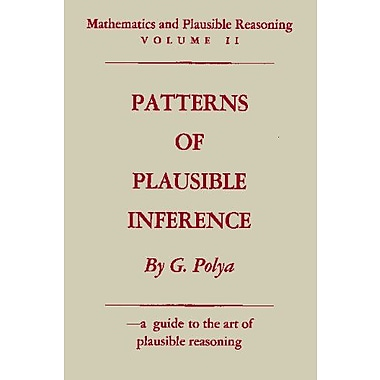 Mathematics And Plausible Reasoning Vol Ii Patterns Of Plausible Inference, New Book (9784871878340)