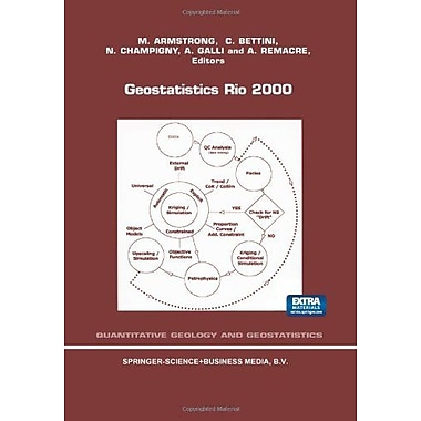 Geostatistics Rio 2000 Proceedings Of The Geostatistics Sessions Of The 31St International Geological , New Book (9789048159543)