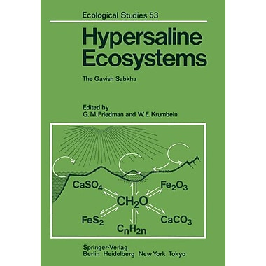 Hypersaline Ecosystems The Gavish Sabkha Ecological Studies, Used Book (9783642702921)
