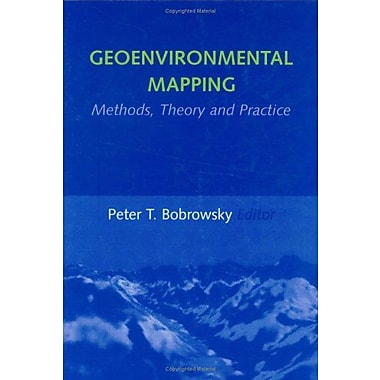 Geoenvironmental Mapping Methodstheory And Practice, New Book (9789054104872)
