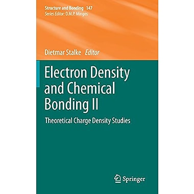 Electron Density And Chemical Bonding Ii Theoretical Charge Density Studies Structure And Bonding, New Book (9783642308079)