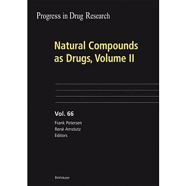 Natural Compounds As Drugs Volume Ii Progress In Drug Research, New Book (9783764385941)