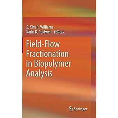 Field-Flow Fractionation In Biopolymer Analysis, New Book (9783709101537)