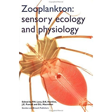 Zooplankton Sensory Ecology And Physiology, New Book (9789056990220)