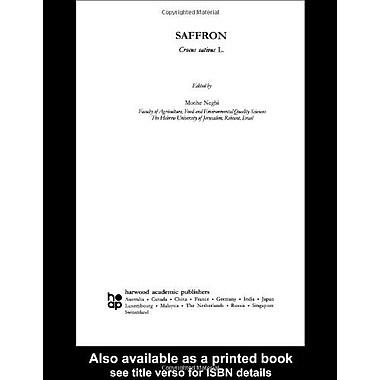 Saffron Crocus Sativus L Medicinal And Aromatic Plants - Industrial Profiles, New Book (9789057023941)