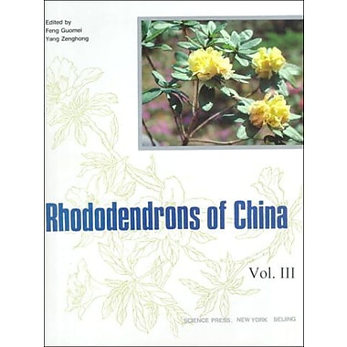 Rhododendrons Of China, New Book (9787030063441)