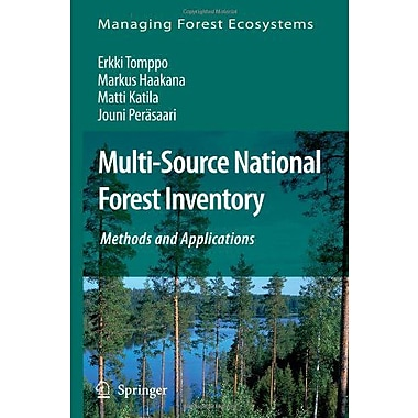 Multi-Source National Forest Inventory Methods And Applications Managing Forest Ecosystems, New Book (9789048179640)