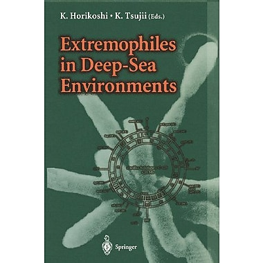 Extremophiles In Deep-Sea Environments, New Book (9784431702634)