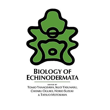Biology Of Echinodermata, New Book (9789054100102)