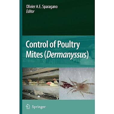 Control Of Poultry Mites Dermanyssus, New Book (9789048185085)