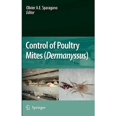 Control Of Poultry Mites Dermanyssus, New Book (9789048127306)