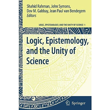 Logic Epistemology And The Unity Of Science, New Book (9789048124862)