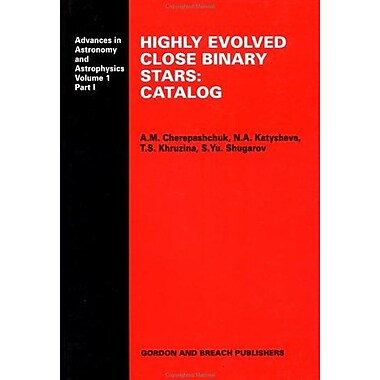 Catalogue Advances In Astronomy And Astrophysics, New Book (9789056990121)