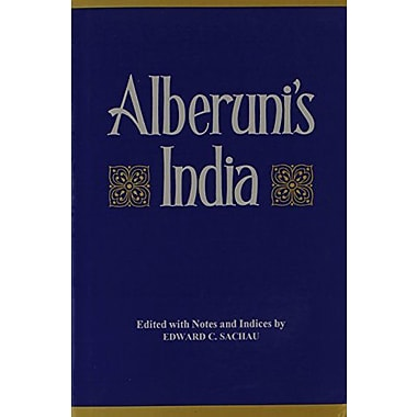 Alberunis India An Account Of The Religion Philosophy Literature Geography Chronology Astronomy Custom, New Book (9788121505628)