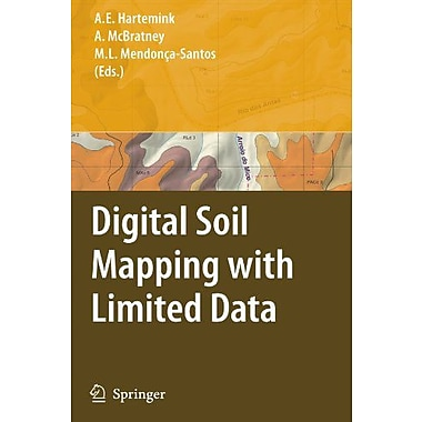 Digital Soil Mapping With Limited Data, New Book (9789048179251)