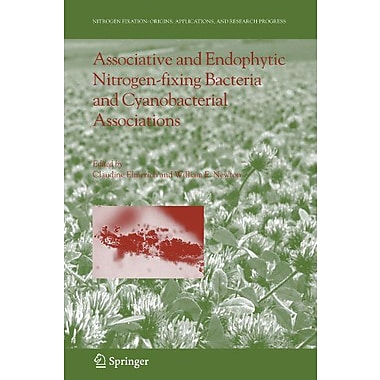Associative And Endophytic Nitrogen-Fixing Bacteria And Cyanobacterial Associations Nitrogen Fixation , New Book (9789048168965)