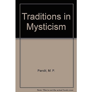 Traditions In Mysticism, New Book (9788120706699)