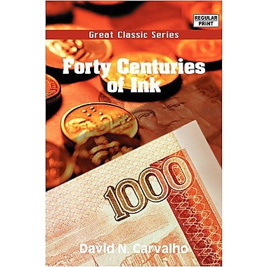 Forty Centuries Of Ink, New Book (9788132049104)