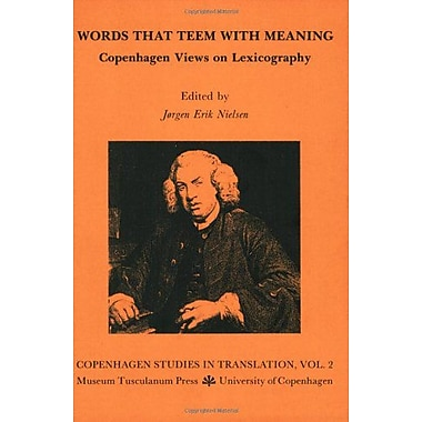 Words That Teem Meaning Opuscula Graecolatina, New Book (9788772892337)