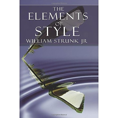 The Elements Of Style, New Book (9789562919890)