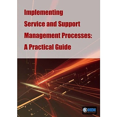 Implementing Service And Support Management Processes A Practical Guide, New Book (9789077212431)