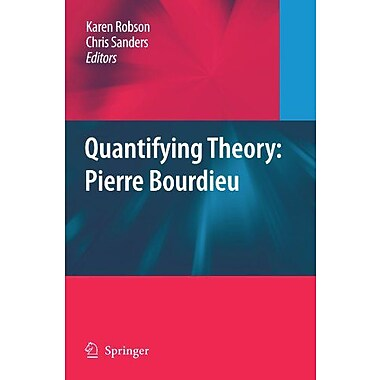 Quantifying Theory Pierre Bourdieu, New Book (9789048181315)