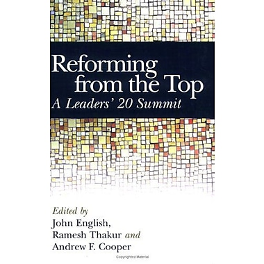 Reforming From The Top A Leaders 20 Summit, New Book (9789280811186)