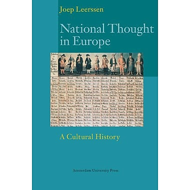 National Thought In Europe A Cultural History Europa, New Book (9789053569566)