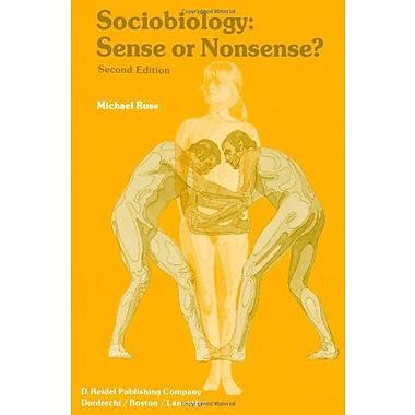 Sociobiology Sense Or Nonsense? Episteme Volume 8, New Book (9789027717986)