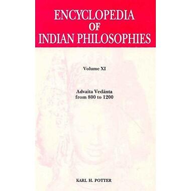 Encyclopaedia Of Indian Philosophies V Xi Advaita Vedanta From 800-1200 Ad Vol Xi, New Book (9788120830615)