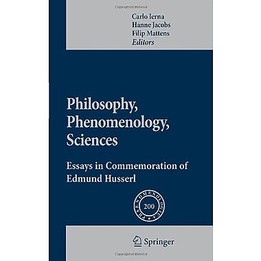 Philosophy Phenomenology Sciences Essays In Commemoration Of Edmund Husserl Phaenomenologica English G, New Book (9789400700703)
