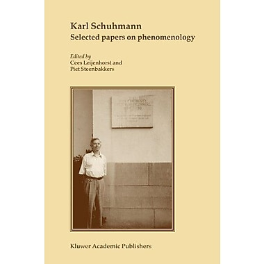 Karl Schuhmann Selected Papers On Phenomenology, New Book (9789048165582)