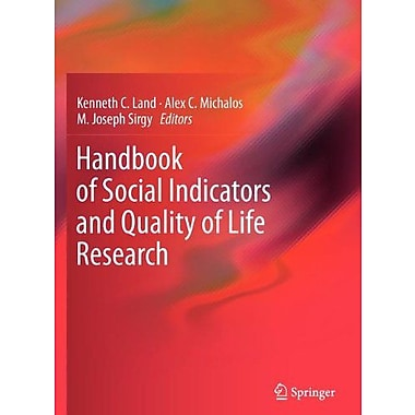 Handbook Of Social Indicators And Quality Of Life Research, New Book (9789400724204)