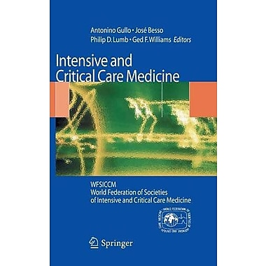 Intensive And Critical Care Medicine Wfsiccm World Federation Of Societies Of Intensive And Critical C, New Book (9788847014350)
