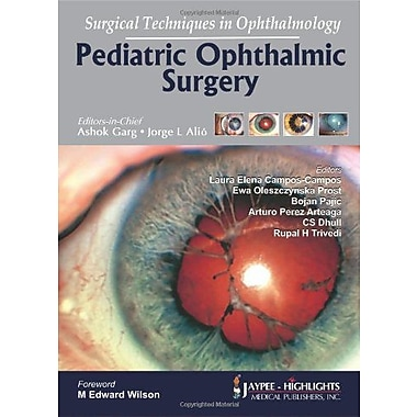 Surgical Techniques In Ophthalmology Pediatric Ophthalmic Surgery, New Book (9789350251485)
