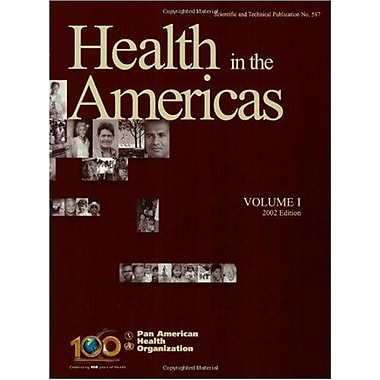 Health In The Americas 2002 2 Volume Set V 1 Amp 2, New Book (9789275115879)