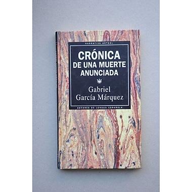 Cronica De Una Muerte Anunciada, New Book (9788447301669)