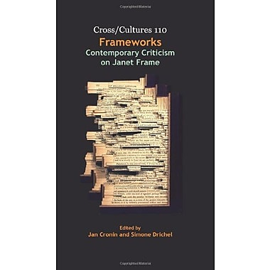 Frameworks Contemporary Criticism On Janet Frame Crosscultures, New Book (9789042026766)