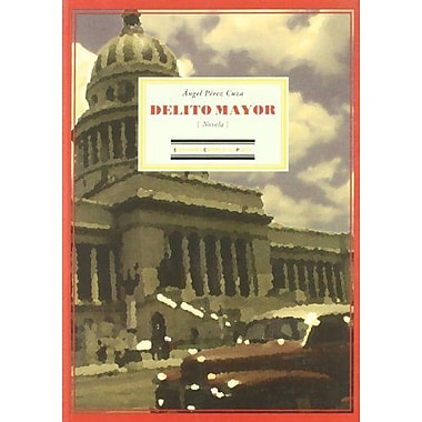 Delito Mayor Spanish Edition, New Book (9788496133594)