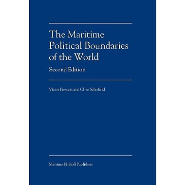 The Maritime Political Boundaries Of The World, New Book (9789004140660)