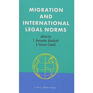 Migration And International Legal Norms, New Book (9789067041577)